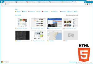 New Tab Page screenshot